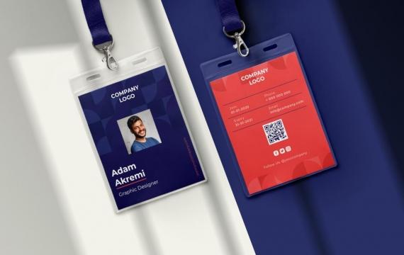 身份证卡Vol.24工作牌设计模板下载