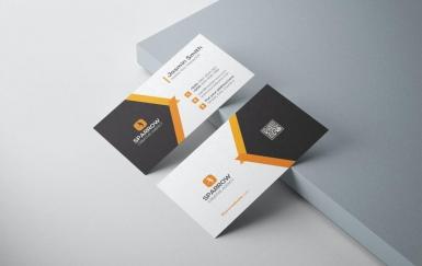简洁商务名片设计模板素材