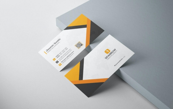 商务大气名片设计模板素材