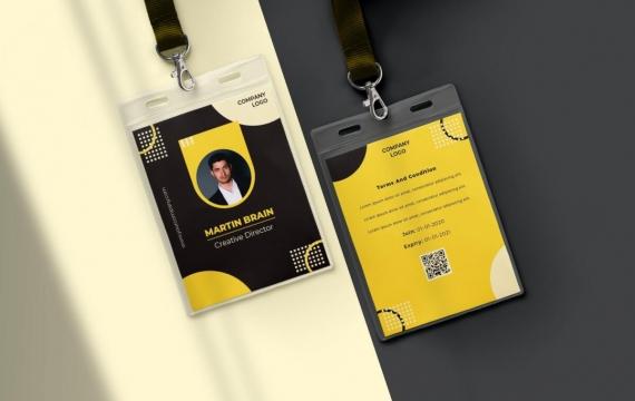身份证卡Vol.23工作牌设计模板下载