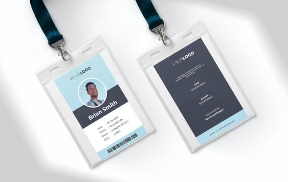 身份证卡Vol.7工作牌设计模板下载