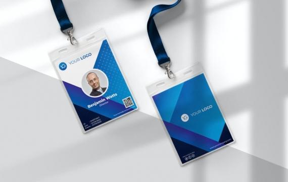 身份证卡Vol.20工作牌设计模板下载