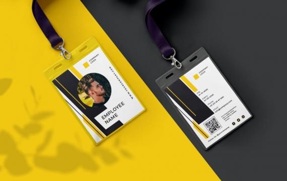 身份证卡Vol.9工作牌设计模板下载