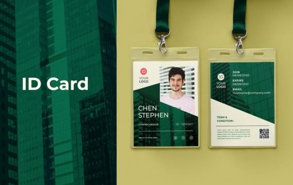 身份证卡Vol.17工作牌设计模板下载