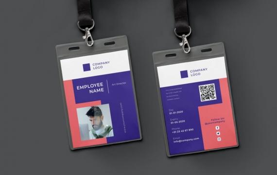 身份证卡Vol.8工作牌设计模板下载