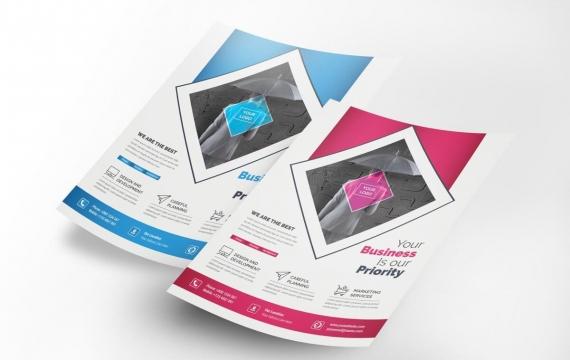 公司传单营销传单设计模板下载