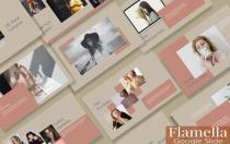 FAMELLA-现代时尚Google幻灯片模板