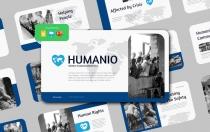 HUMANIO-世界人道主义日演示文稿Google幻灯片模板