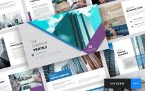 Ovizer-公司简介主题演讲模板Keynote模板下载