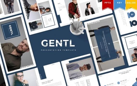 Gentl | Powerpoint,主题演讲,Google幻灯片
