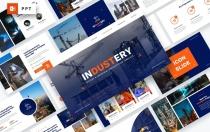 工业-工厂工业PowerPoint模板