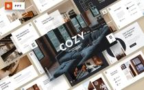 COZY-建筑事务所PowerPoint模板