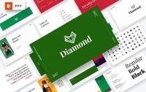 钻石-品牌指南PowerPoint模板
