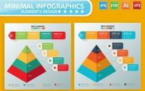 金字塔信息图表设计