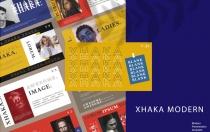 XHAKA-色彩斑斓PowerPoint模板