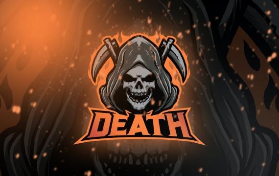 骷髅电竞标志卷 5 logo设计