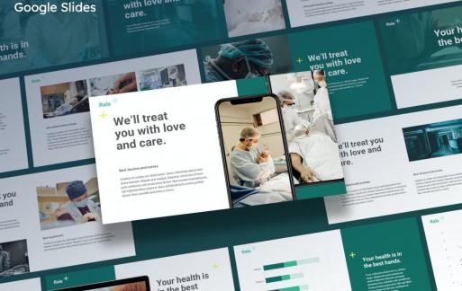 Rale-医用Google幻灯片模板