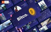Bitco-加密货币PowerPoint模板