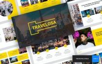 Travelosa-日语主题演讲模板Keynote模板下载