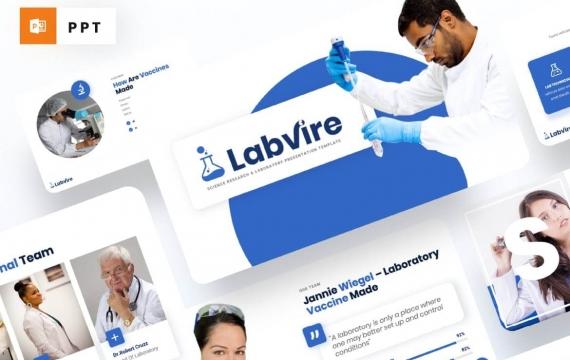 Labvire-科学研究PowerPoint模板