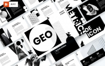 GEO-创意几何PowerPoint模板