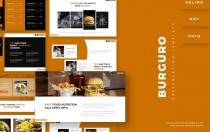Burguro-演示Googleslide模板