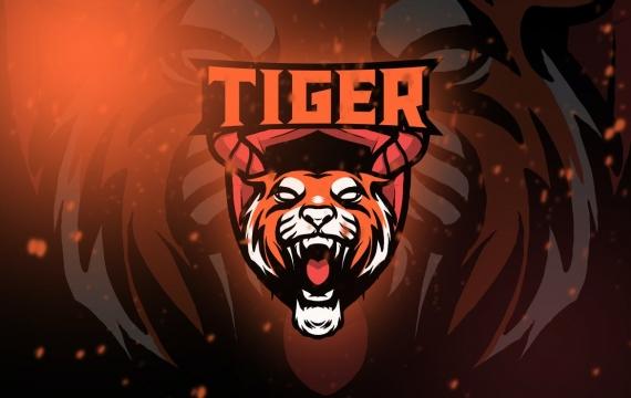 老虎电竞徽标卷 1个 logo设计