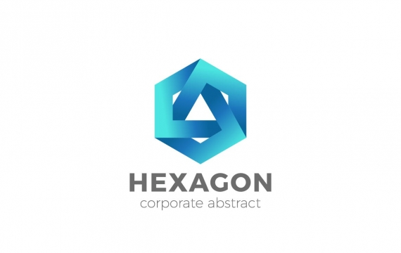 Logo Hexagon Infinity Loop企业财务