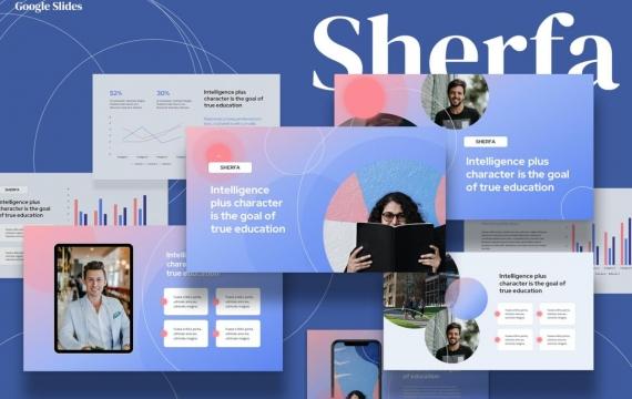 Sherfa-教育Google幻灯片模板
