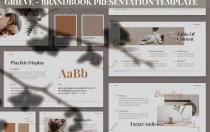 Grieve-Brandbook演示模板Google幻灯片模板