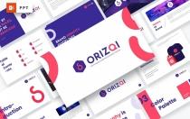 Orizqi-品牌识别PowerPoint模板
