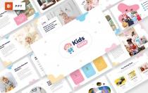 儿童专区-儿童和婴儿PowerPoint模板