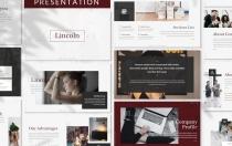 林肯-业务演示模板Google幻灯片模板