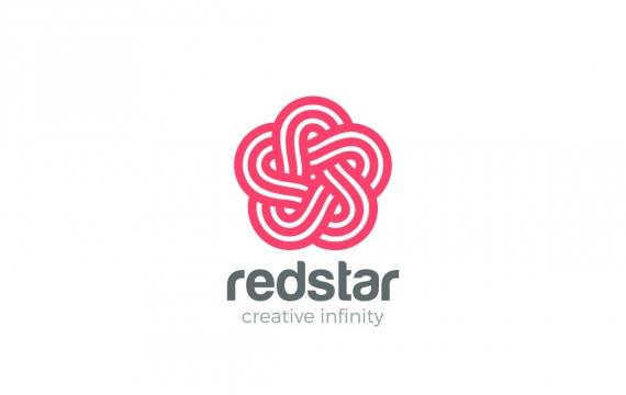 徽标之星五点环logo设计