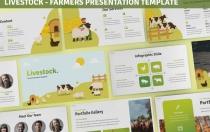 牲畜-农民演示Google幻灯片模板
