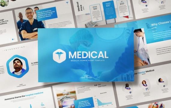 医疗-Powerpoint模板