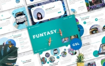 Funtasy –创意企业Googleslide模板