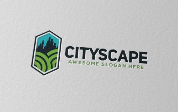 城市景观徽标logo