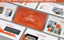 La Casa-房地产PowerPoint模板