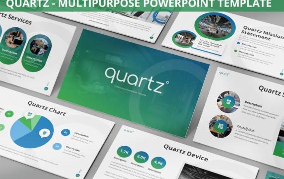 石英-多用途Powerpoint模板