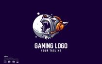 狮子游戏标志设计