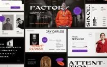 工厂-都市时尚PowerPoint模板