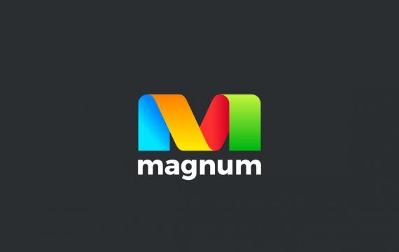 徽标字母M功能区样式logo