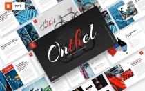 Onthel-自行车PowerPoint模板