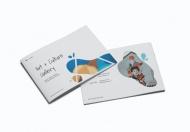 美术馆A5宣传手册模板