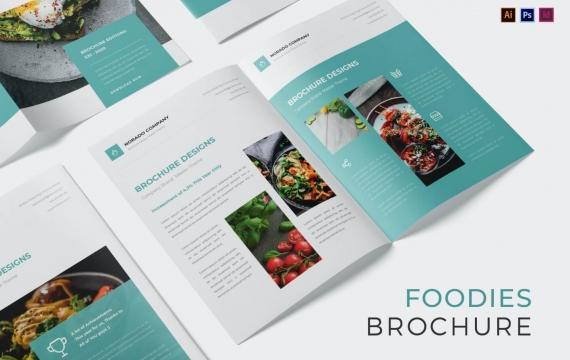 美食家宣传手册