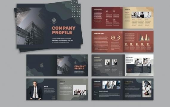 公司简介宣传手册模板