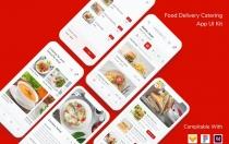 送餐餐饮应用程序UI套件app模板