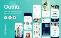 Outfitr-时尚app界面UI套件