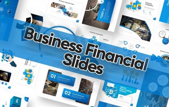 商业金融幻灯片PowerPoint模板
